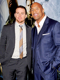 Channing Tatum Is Going to Be an &#39;Amazing Dad,&#39; Says The Rock | Channing Tatum, Dwayne Johnson, Dwayne &#39;&#39;The Rock&#39;&#39; Johnson