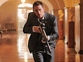 Channing Tatum's Here to Save the President – and Looks Great Doing it! | Channing Tatum
