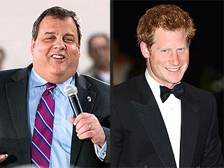 Gov. Chris Christie: Prince Harry Won't Go Naked in New Jersey | Prince Harry