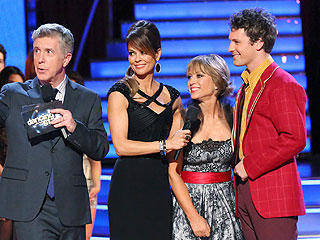 Dancing Shocker! Dorothy Hamill Drops Out of Competition | Dorothy Hamill, Tristan MacManus