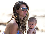 See Gisele B&#252;ndchen&#39;s Adorable Beach Baby Vivian | Gisele Bundchen