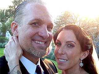 PHOTO: Jesse James & Alexis DeJoria Beaming on Their Wedding Day | Jesse James