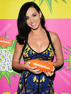Katy Perry Wins at Kids' Choice Awards Post-Breakup from John Mayer