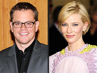 Matt Damon, Cate Blanchett Take Kids on Fun Adventures in Berlin | Cate Blanchett, Matt Damon
