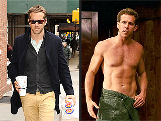 PHOTO: Ryan Reynolds Eats Burger King and Still Looks This Good | Ryan Reynolds