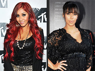 Snooki Offers Kim Kardashian Tips for a Fashionable Delivery | Kim Kardashian, Nicole Polizzi
