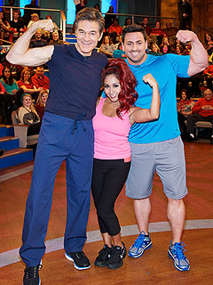 Snooki Reveals Weight-Loss Secret to Dr. Oz : People.com
