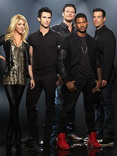 Adam Levine, Usher Trade Top Talent as The Voice Heats Up