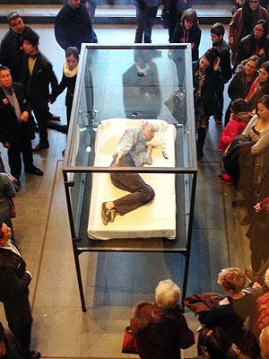Tilda Swinton's Performance Art in N.Y.C. Is a Snooze – Literally  New York, Tilda Swinton