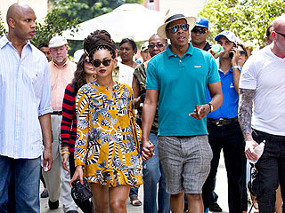 New Photo! Jay-Z & Beyoncé Celebrate Anniversary in Cuba