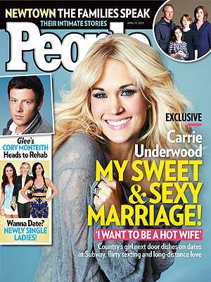 People magazine cover: Carrie Underwood