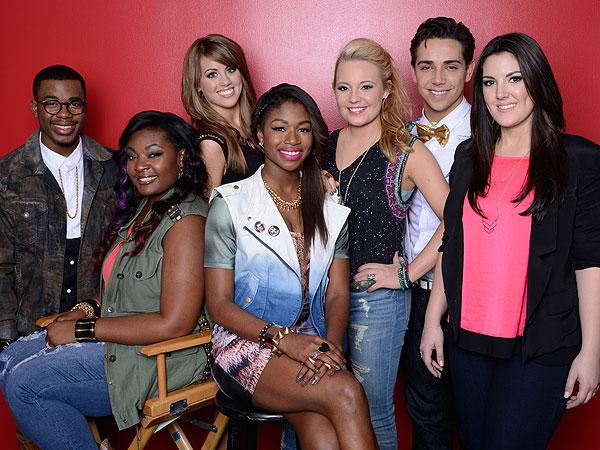 American Idol: Lazaro Arbos Stays, Burnell Taylor Goes| American Idol, Candice Glover, Keith Urban, Lazaro Arbos, Mariah Carey, Nicki Minaj, Randy Jackson, Ryan Seacrest