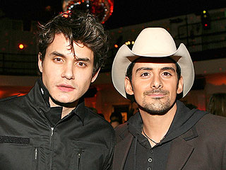 You Won't Believe Who's Performing with Brad Paisley at the ACMs ... | Brad Paisley, John Mayer