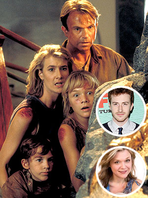 Ariana Richards and joseph mazzello