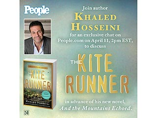Kite Runner Author Khaled Hosseini Chats with PEOPLE Readers