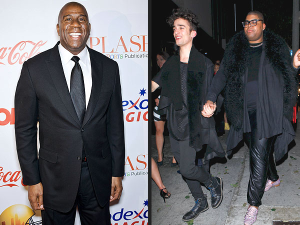 Magic Johnson's Son E.J. Comes Out as Gay