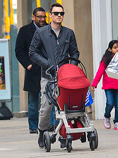 Brian Austin Green Takes Son Noah Out in New York City (Photo)