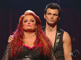 Wynonna Voted Off This Week's Dancing | Tony Dovolani, Wynonna Judd