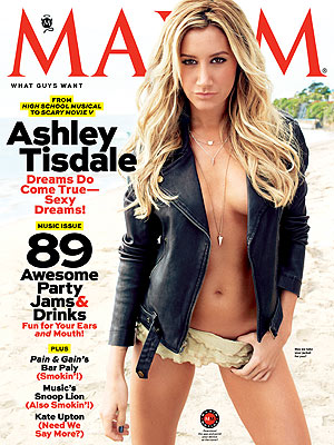 Ashley Tisdale Maxim Shoot: She Says It Was Freezing