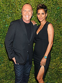 TIME 100 Gala Michael Kors Halle Berry Pregnancy Style
