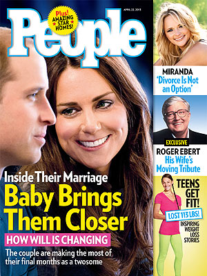 Kate Middleton and Prince William Bonding over Babies