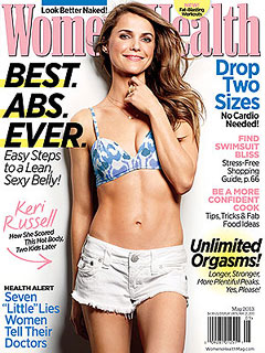 Keri Russell The Americans Women's Health