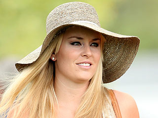 PHOTO: Lindsey Vonn Supports Tiger Woods at Masters