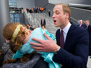 Meet the Little Girl Who Rebuffed Prince William's Kiss