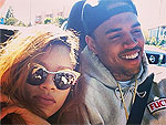 Rihanna & Chris Smiling Together in Sunny New Photo | Chris Brown, Rihanna