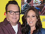 PHOTO: Tom Arnold Introduces Son Jax