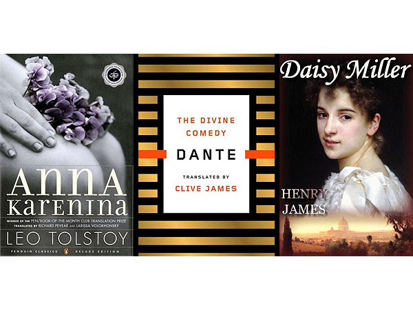 Book Reviews: Anna Karenina, The Divine Comedy, Daisy Miller
