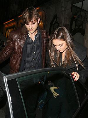Ashton Kutcher & Mila Kunis – Will the Jet Setters' Next Stop Be Marriage?  Divorced, Marriage, Ashton Kutcher, Demi Moore, Mila Kunis