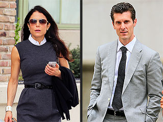 Bethenny Frankel and Jason Hoppy Hash it Out (in the Halls) at Divorce Court | Bethenny Frankel