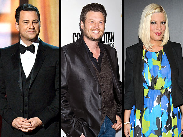 Jimmy Kimmel Joins Tori Spelling & More Ordained Stars