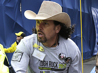Meet the Hero in the Cowboy Hat from the Boston Marathon Bombing