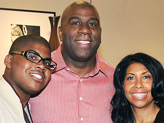 Magic Johnson's Son E.J. Is Cool with Publicity Over His Sexuality