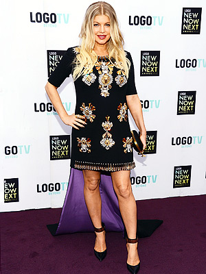 Fergie Pregnant NewNowNext Awards