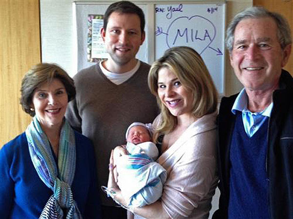 Jenna Bush Hager Daughter Mila First Photo