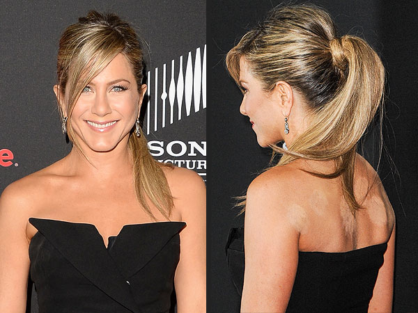 Jennifer Aniston Covers Up Her Cupping Marks on Red Carpet