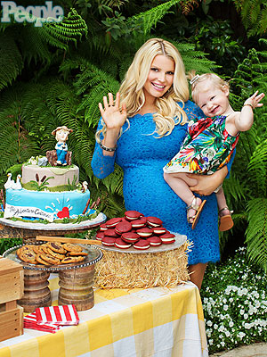 Jessica Simpson Baby Shower Exclusive