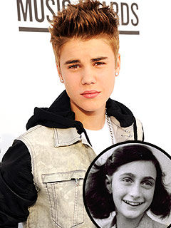 Justin Bieber: I Hope Anne Frank &#39;Would Have Been a Belieber&#39; | Anne Frank, Justin Bieber