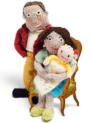 While Kate & Prince William Prepare for Parenthood, You Can Knit Your Own Royal Baby