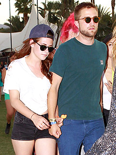 PHOTO: Kristen and Rob Stay Close at Coachella | Kristen Stewart, Robert Pattinson