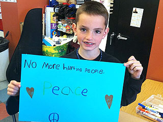 Boston Grieves for Martin Richard, 8-Year-Old Killed, and His 'Beloved' Family