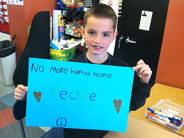 Martin Richard Laid to Rest in Boston