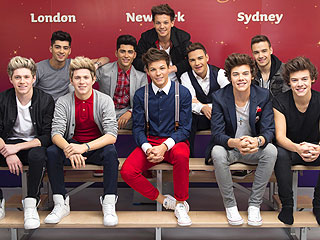 One Direction Times Two: Can You Spot the Real Guys Amid Their Wax Figures?