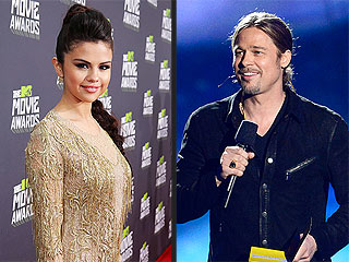 What Happened When Selena Gomez Met Brad Pitt? | Brad Pitt, Selena Gomez