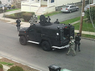 Watertown Under Siege: Shocking & Surreal Photos from the Bomber Manhunt