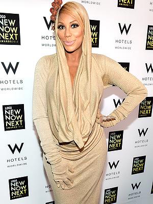 Tamar Braxton Pregnant NewNowNext Awards