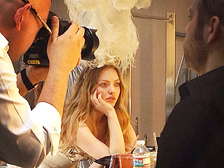 Wonder What Goes On at a Most Beautiful Shoot? | Amanda Seyfried